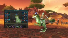 Customisation dans WildStar - WildStar Customisation   Mounts   Velocirex Mount