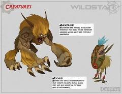 Concept art : Créatures de Deradune