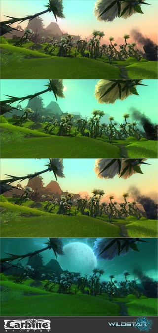 Image article Polycount sur les graphismes - WildStar TimesofDay Galeras