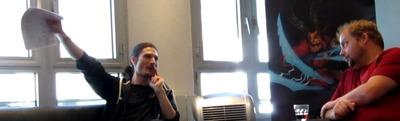 Interview de Jeremy Gaffney à Paris - Itw57