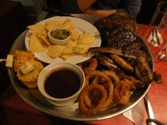 Exemples de plats du 1er soir
