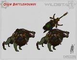 Conceptart de Auroria - Osun Battlehounds
