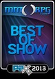 Pax Prime 2013 award