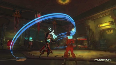 Guerrier de WildStar - Warrior classdrop 04