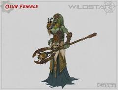 Conceptart de Auroria - Osun Female