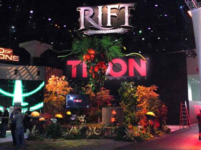 Stand de Trion à l'E3 2010