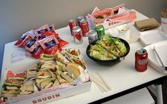 Sandwiches de chez Boudin, boulangerie célèbre de San Francisco