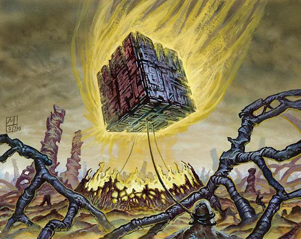 Illustration du Doubling Cube