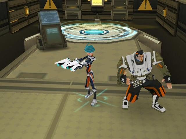 Première capture d'écran de la version pré-production du jeu