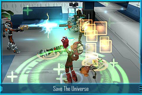 Capture officielle de Star Legends sur iOS