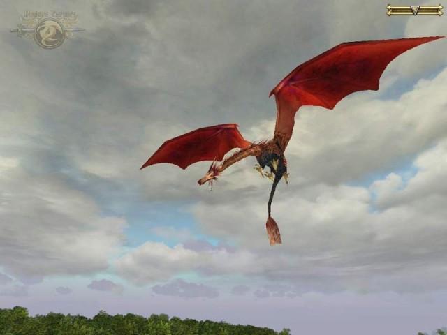 Le dragon oiseau a repéré sa cible