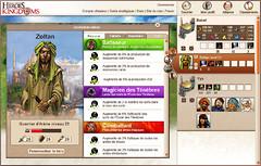 ScreenShots officiels - Screenshots heroSkills fr