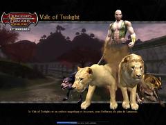 Vale of Twilight - Ecran de chargement