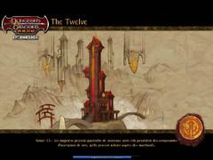 The Twelve - écran de chargement début du jeu