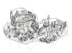 Carte de la Maison Jorasco
