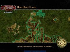 Three Barrel Cove - écran de chargement (début du jeu)