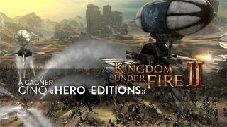 Cinq exemplaires de l'Hero Edition de Kingdom Under Fire 2 à gagner