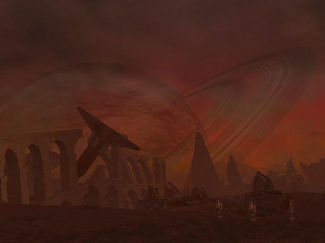 Voici le redoutable spectacle que nous offre la planète Hades