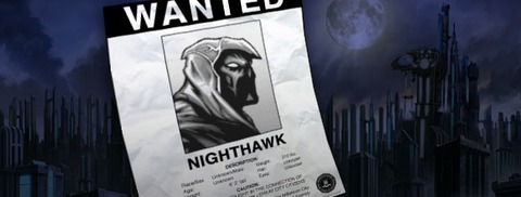Champions Online - Message d'alerte : Attention à Nighthawk