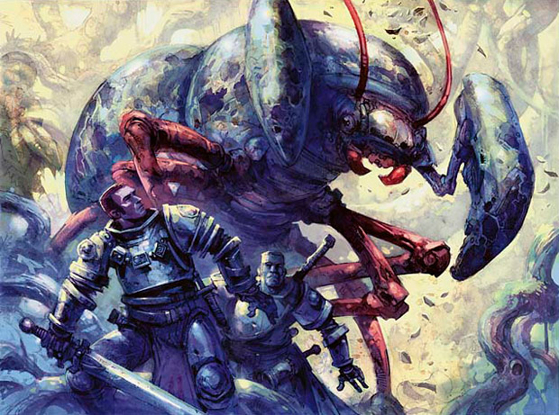 Illustration de la Giant Ambush Beetle