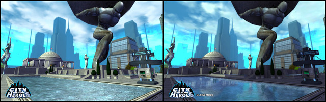 "Le mode graphique ""Ultra"" de City of Heroes"