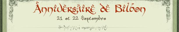 L'anniversaire de Bilbon, les 21 et 22 septembre 2009 dans la Compté