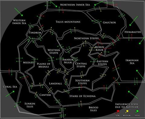 Carte météo de MO