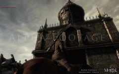 Temple déchu