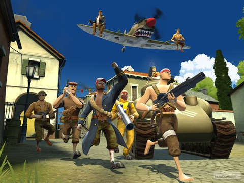 Battlefield Heroes - Electronic Arts ferme (certains de) ses jeux free-to-play