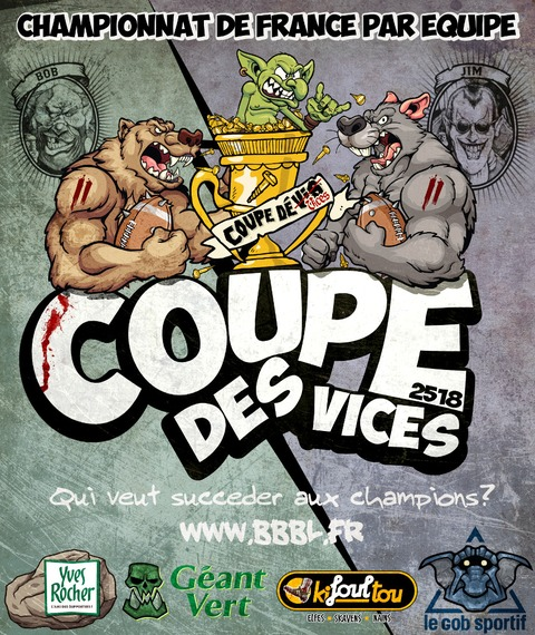 Blood Bowl - Lancement de... LA COUPE DES VICES 2