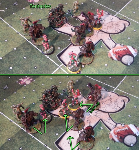 Blood Bowl - Un petit coup de Projection