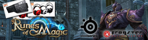 Des casques audio, claviers MMO et tapis de souris Runes of Magic - SteelSeries à gagner