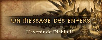 Message des enfers : Avenir de D3