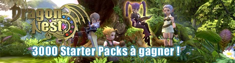 Dragon Nest - 3000 « Starter Packs » pour bien débuter dans Dragon Nest Europe