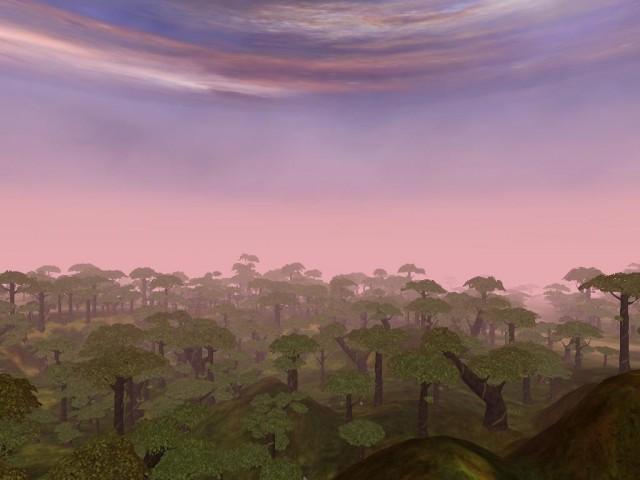 Un paysage PlanetSide