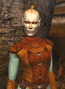 Juhani, une Cathar dans KOTOR