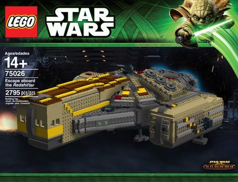 Redshifter recréé en LEGO par un fan