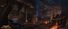 Art conceptuel Coruscant 2