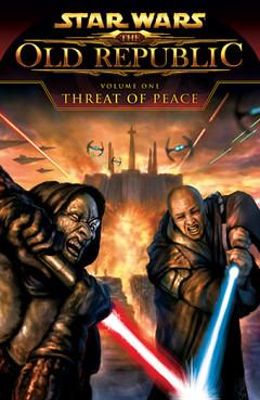 """Couverture de l'édition Papier de """"Threat of Peace"""" Américaine"""