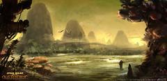 Les marais d'Hutta