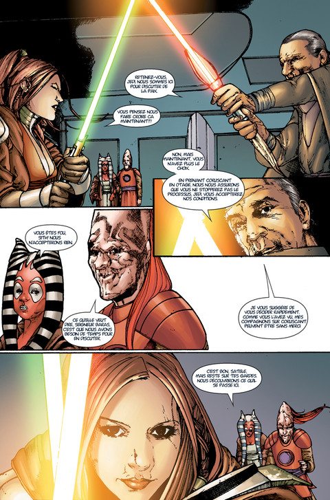 Star Wars The Old Republic - Webcomic : La menace de la paix - Pages 10 à 12
