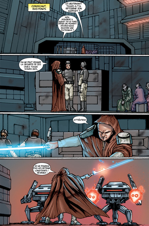 Star Wars The Old Republic - Webcomic : La menace de la paix - Pages 16 à 18