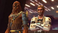 Wookie et contrebandier