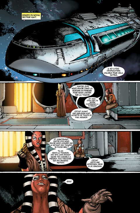 Star Wars The Old Republic - Webcomic : La menace de la paix - Pages 22 à 24