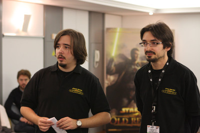 Antonio Moreno et Alexandre Moreau