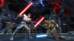Guerrier sith VS Jedi