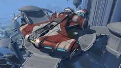 "Vaisseau ""Corvette Jedi de classe Vanguard"""