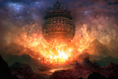 L'incendiaire flottant