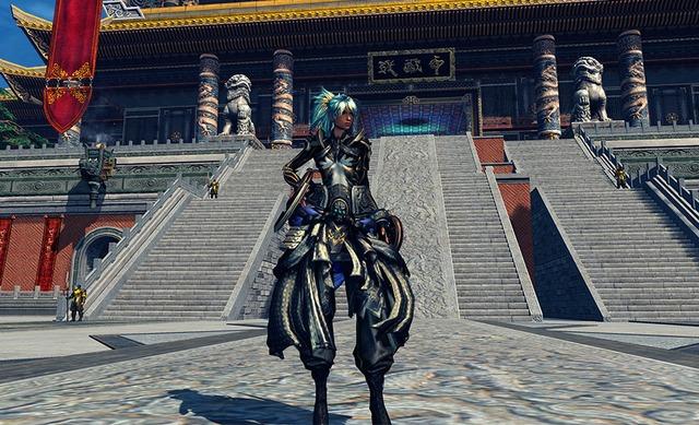Costume Soleil Noir, version féminine