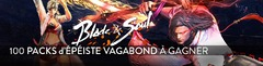 Distribution : 100 Packs d'Épéiste Vagabond de Blade and Soul à gagner